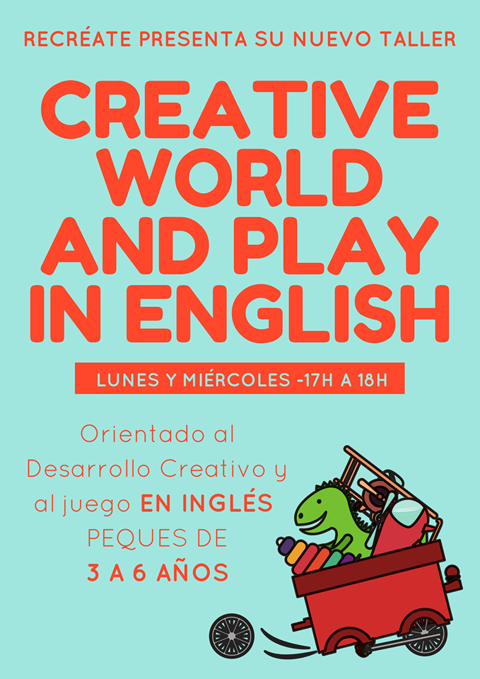 </p> <p><center>CREATIVE WORLD AND PLAY IN ENGLISH</center>